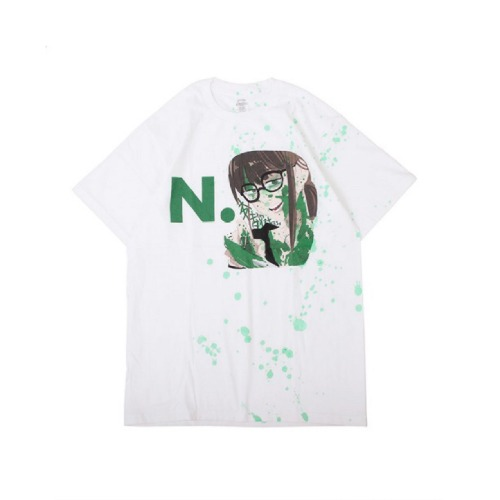ANARCHY DRIP TEE WHITE