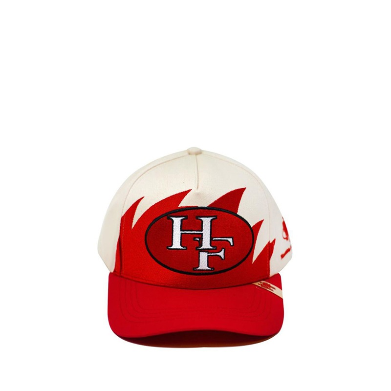 SHARK TOOTH SNAPBACK POWDER RED